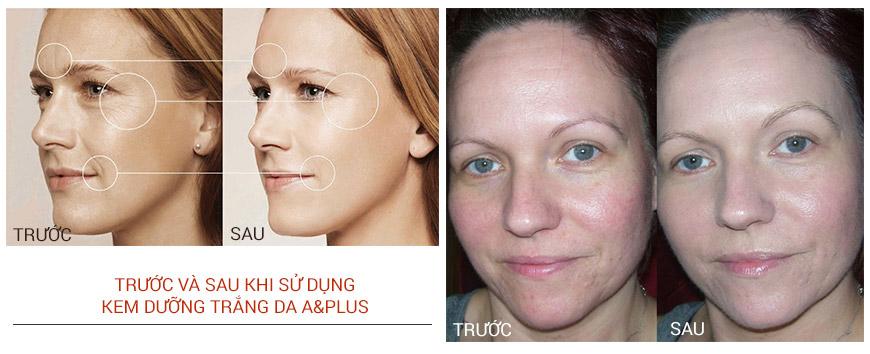 Kem dưỡng trắng da chống lão hóa phục hồi da A&Plus Whitening & Anti-Wrinkle SPF 50 PA+++ 3