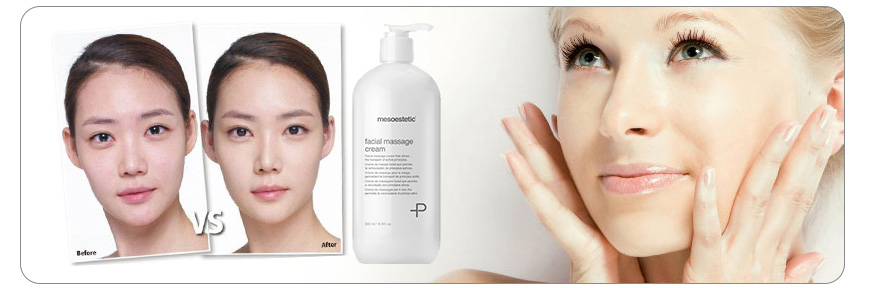 Hiệu quả kem massage mặt Mesoestetic Facial Massage Cream