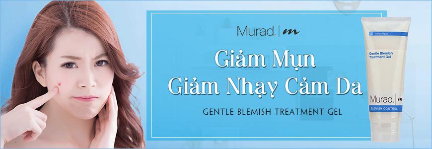 Gel giúp giảm mụn, giảm nhạy cảm da Murad Gentle Blemish 1