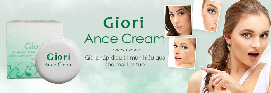 Kem giảm mụn Giori Pharmacy Acne Cream 1