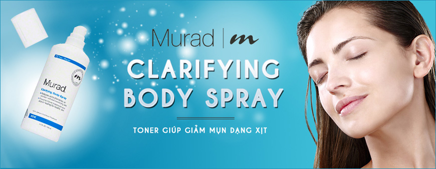 Toner Murad Clarifying Body Spray