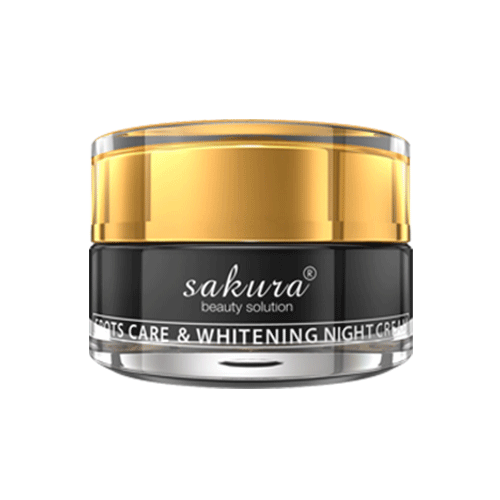 Sakura spots care & whitening night cream