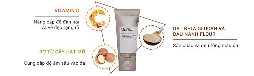 Kem làm săn chắc chống rạn da toàn thân Murad Body Firming Cream 3
