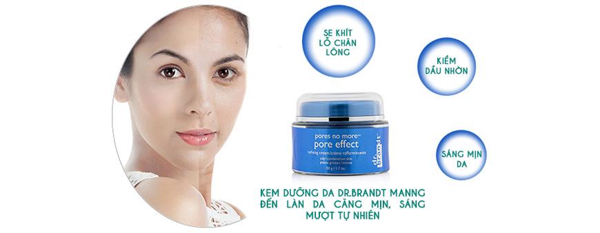 Kem dưỡng da se khít lỗ chân lông, làm sáng da Pores No More Pore Effect Dr.brandt 2