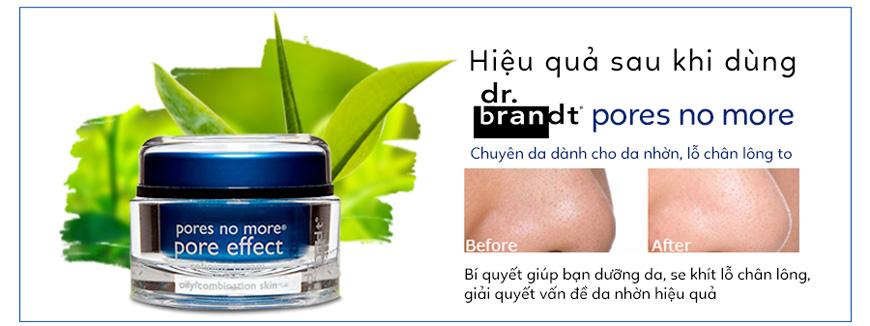 Kem dưỡng da se khít lỗ chân lông, làm sáng da Pores No More Pore Effect Dr.brandt 3