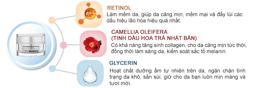 Mặt nạ dưỡng da chống lão hóa Jan Marini Retinol Plus 3