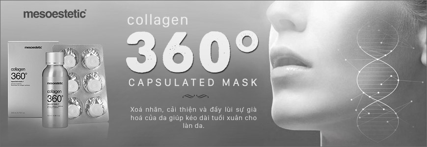 Mặt nạ Mesoestetic Collagen 360 Capsulated Mask