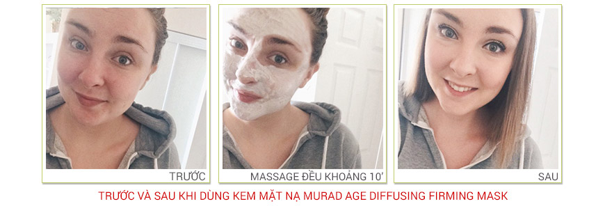 Công dụng Murad Age Diffusing Firming Mask