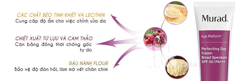 Kem dưỡng da ban ngày Murad Perfecting Day Cream SPF 30 PA+++