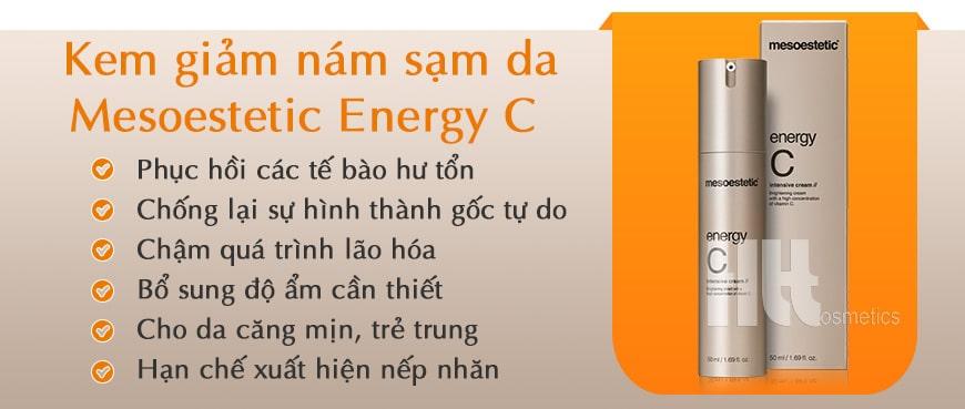 Kem giảm nám sạm da Mesoestetic Energy C