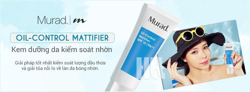 Kem kiểm soát nhờn dưỡng ẩm Murad Oil-Control Mattifier SPF 15 PA++