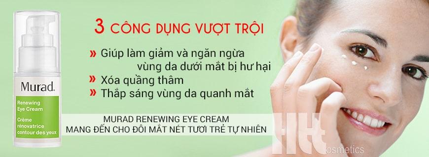 Kem tái tạo và hồi sinh da vùng mắt Murad Renewing Eye Cream