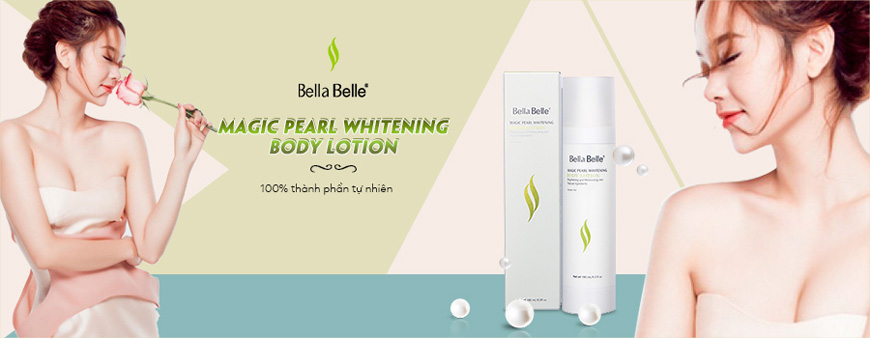 Bella Belle Magic Pearl Whitening