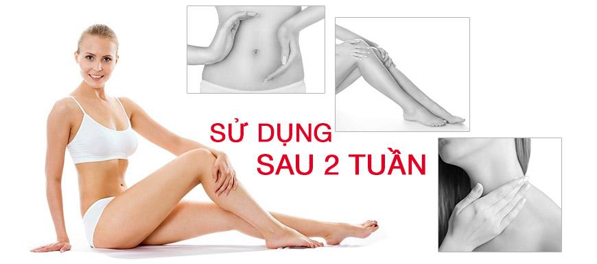 Kem dưỡng trắng da toàn thân A&Plus Whitening Body Cream SPF 45 PA+++ 3