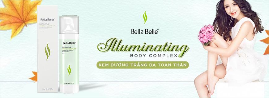 Kem dưỡng trắng da toàn thân Bella Belle Illuminating Body