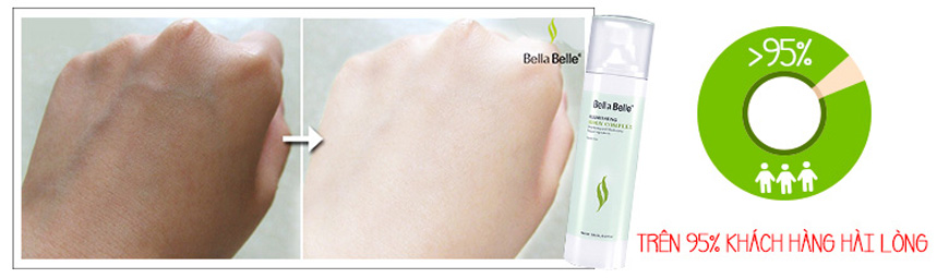 Kem dưỡng trắng da toàn thân Bella Belle Illuminating Body 4