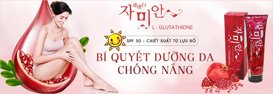 Kem dưỡng trắng da Hàn Quốc L-Glutathione SPF50++