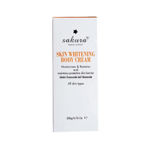 Kem dưỡng trắng da Sakura Skin Whitening Body Cream
