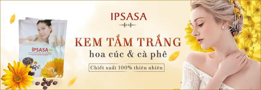 Kem tắm trắng Ipsasa hoa cúc và cà phê 1