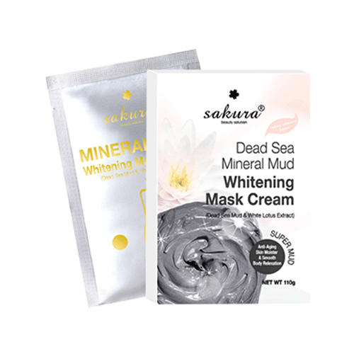 Sakura Dead Sea Mineral Mud Whitening Mask Cream