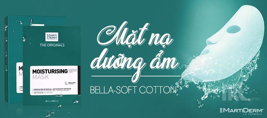 Mặt nạ dưỡng ẩm MartiDerm Bella-Soft Cotton