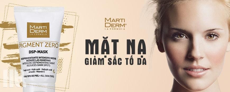 Mặt nạ giảm sắc tố da ban đêm chuyên sâu MartiDerm DSP-Mask