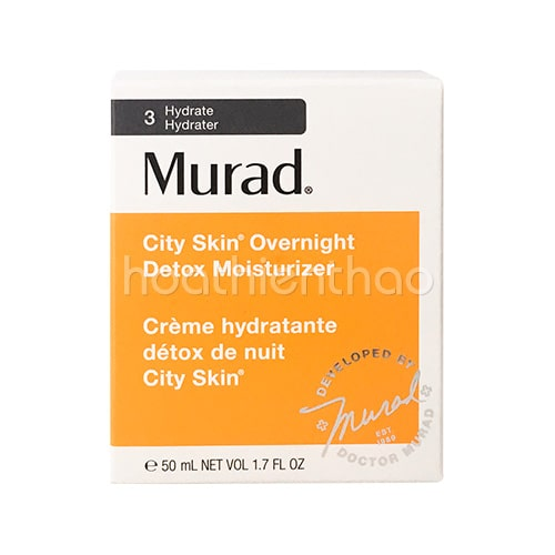 Mặt nạ ngủ giải độc da Murad City Skin Overnight Detox Moisturizer