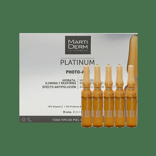 Serum chống lão hóa mạnh trị sạm da Martiderm Platinum Photo-Age