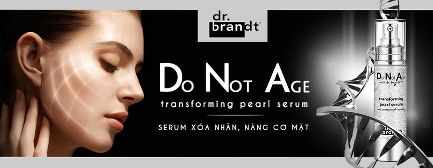 Serum nâng cơ mặt Dr. Brandt Do Not Age Transforming Pearl