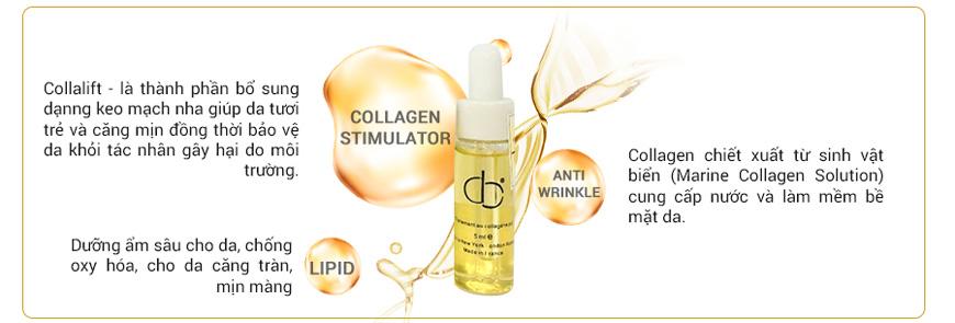 Tinh chất collagen tươi nâng cơ giảm nhăn CD Traitement AU 2