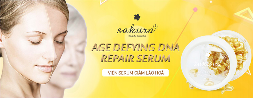 Viên serum Sakura Age Defying DNA