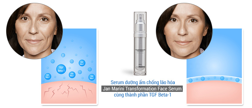 Serum dưỡng ẩm phục hồi da Jan Marini Trasformation Face 2