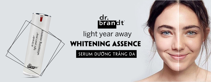 Serum dưỡng trắng da Dr. Brandt Light Years Away Whitening Essence 1