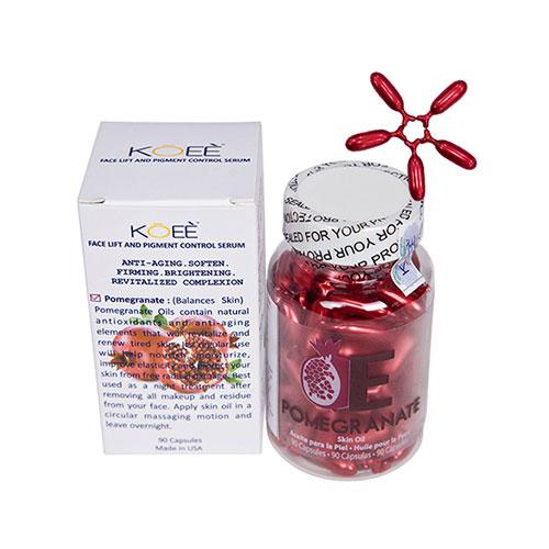 Serum dưỡng trắng da giảm nhăn chiết xuất lựu đỏ Koee Pomegranate Skin