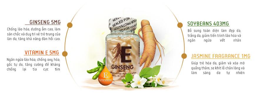 Serum dưỡng trắng da xóa nhăn Koee Ginseng Skin Oil 2