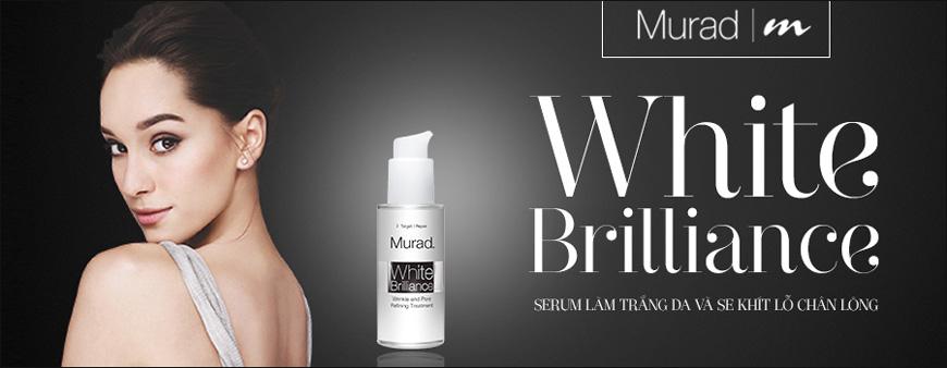 Serum trắng da se khít lỗ chân lông Murad White Brilliance