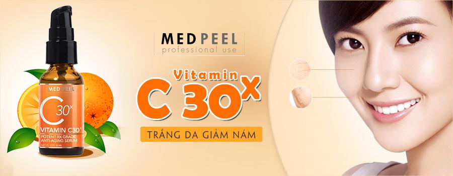 Serum trắng da trị nám Medpeel Vitamin C 30x Anti-Aging