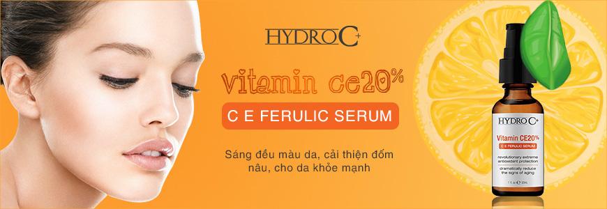 Serum trắng da Hydro C+ Vitamin CE20%