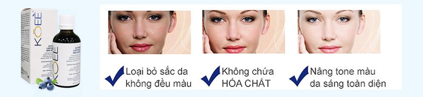 Công dụng Koee Extreme Lightening Skin Serum