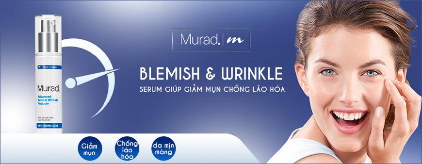 Serum giúp giảm mụn chống lão hóa Murad Advanced 1