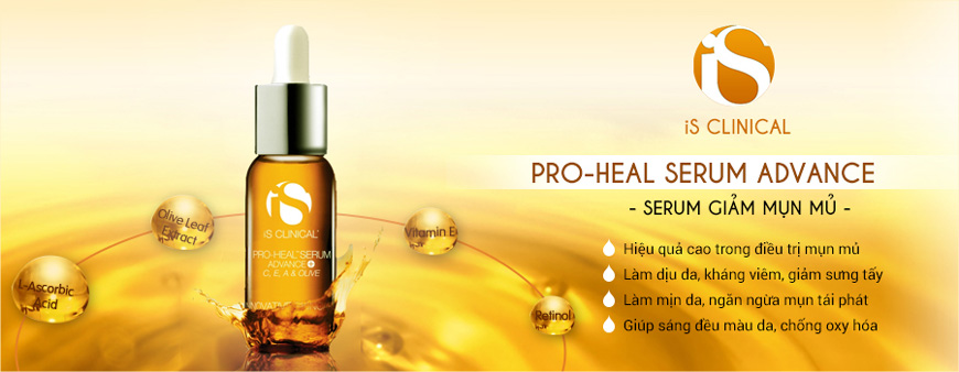 Serum hỗ trợ trị mụn mủ IS Clinical Pro-Heal Advanced 2