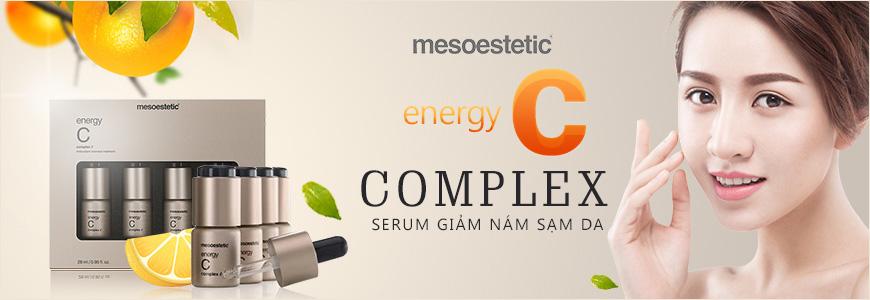 Serum trị nám sạm da Mesoestetic Energy C Complex