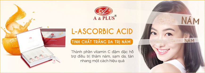 Serum trị nám trắng da A&Plus L-Ascorbic Acid Moisturizer A019 1