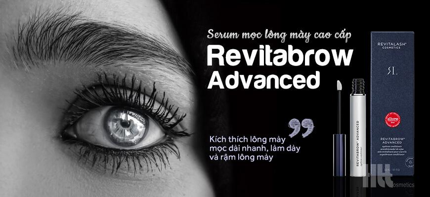Serum mọc lông mày Revitabrow Advanced cao cấp