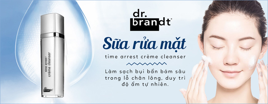 Dr. Brandt Time Arrest Crème Cleanser