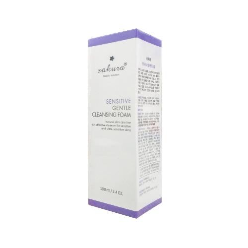 Sữa rửa mặt Sakura Sensitive Gentle Cleasing Foam