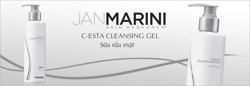 Sữa rửa mặt dạng Gel Jan Marini C-Esta Cleansing 1