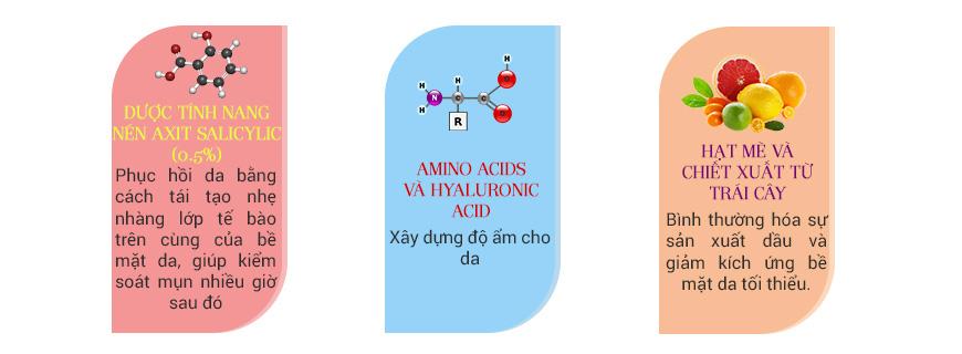 Sữa rửa mặt giảm mụn, chống lão hóa da Murad Time Release Acne Cleanser 4