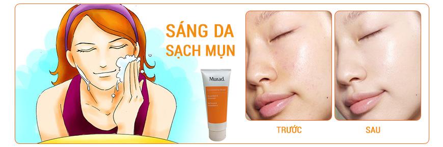 Sữa rửa mặt làm khỏe da Murad Essential-C Cleanser 2