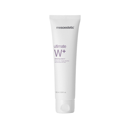 Sữa rửa mặt Mesoestetic Ultimate W+ Whitening Foam